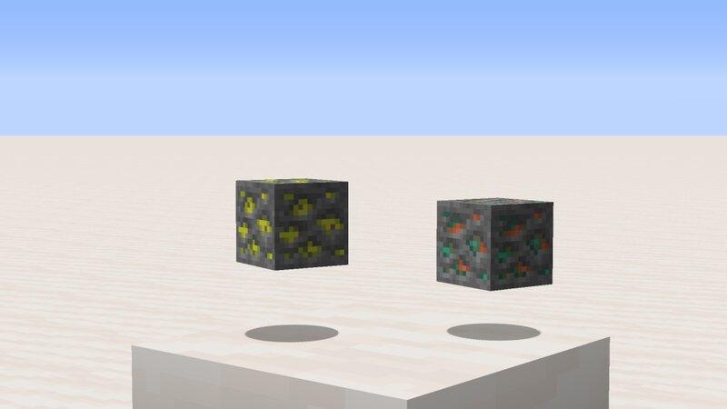 Uranium and Copper ore