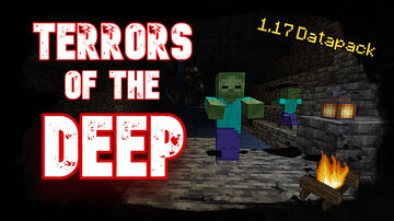 Terrors Of The Deep | Stronger Mobs Below Y=0! | True Survival Datapack Minecraft Data Pack