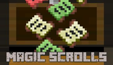 Magic Scrolls   Enchant MOBS and even YOURSELF with Scrolls! Minecraft Data Pack
