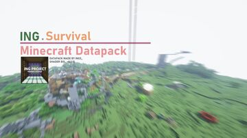 Ing Project Survival 1.4.0 Minecraft Data Pack