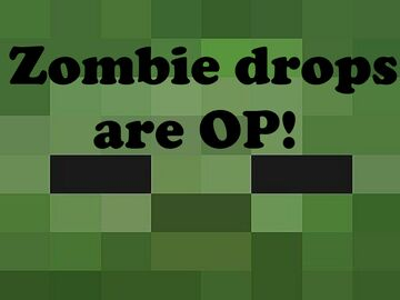 Zombies drop OP items Minecraft Data Pack