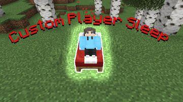 Custom Player Sleep Minecraft Data Pack