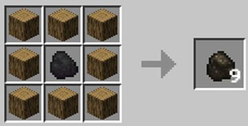 [1.17 DATAPACK] Easy Charcoal Crafting Recipe by TAMOA_GAMING Minecraft Data Pack