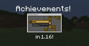 Achievements Are Back! [v1.1] Minecraft Data Pack