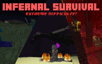 Infernal Survival - Extreme Difficulty Survival Minecraft Data Pack