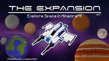 The Expansion: Explore Space In Minecraft! [beta] Minecraft Data Pack