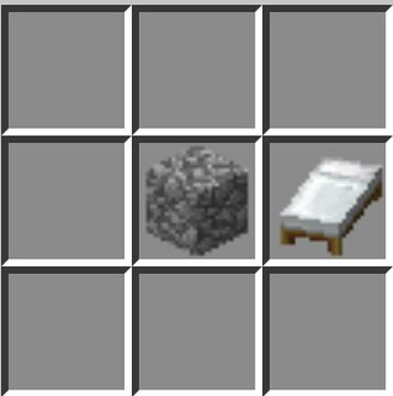 craftable bedrock Minecraft Data Pack