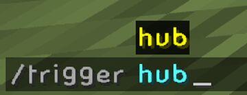 /hub for Servers Minecraft Data Pack