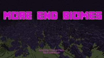 More End Biomes Minecraft Data Pack