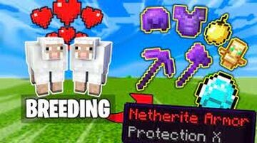 Breeding Mobs Give OP Items Minecraft Data Pack