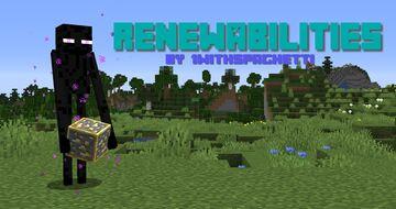 Renewabilities Minecraft Data Pack
