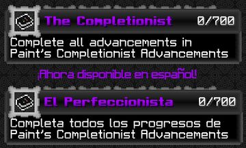 Paint's Completionist Advancements (v3 for 1.17) Minecraft Data Pack