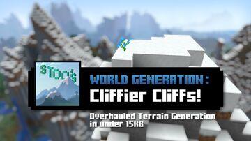 Stoo's Cliffier Cliffs Minecraft Data Pack