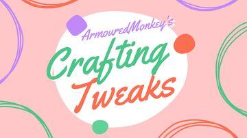 Crafting Tweaks by ArmouredMonkey Minecraft Data Pack