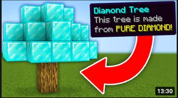 MINECRAFT BUT YOU CAN CRAFT CUSTOM OP TREE Minecraft Data Pack