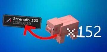 strength every kill Minecraft Data Pack