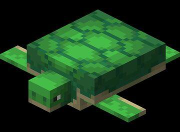 Minecraft, but turtles poop OP ITEMS Minecraft Data Pack