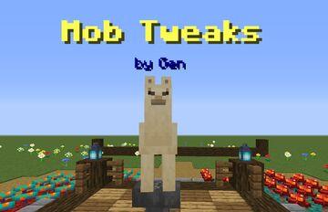 "Gen's ""Mob Tweaks"" Minecraft Data Pack"
