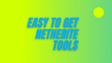 easy to get netherite tools (1.16 datapack) Minecraft Data Pack