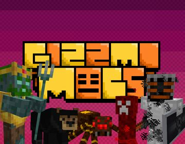 Gizzmo Mobs Minecraft Data Pack