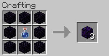 Criying Obsidian Crafting [Datapack] Minecraft Data Pack