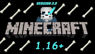 Sans In Minecraft Datapack V3 Minecraft Data Pack