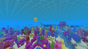 Marine Life (Seahorses, Jellyfishes and more) Minecraft Data Pack