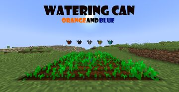Watering Cans Minecraft Data Pack
