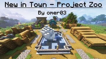 New in Town - Project Zoo addon Minecraft Data Pack