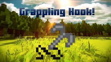 Grappling Hooks! (kinda scuffed) Minecraft Data Pack