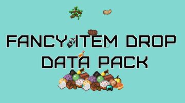 fancy item drop data pack Minecraft Data Pack
