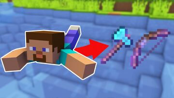 Minecraft But Swimming Gives Op Items Minecraft Data Pack