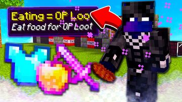 Eating Give OP Items Minecraft Data Pack