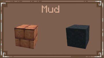 1.19 Mud block and bricks in wild update 2022 Minecraft Data Pack