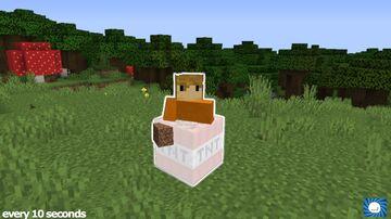 Minecraft, But TNT spawns every 10 seconds Minecraft Data Pack