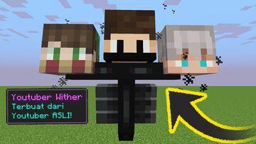 Minecraft tapi MOB adalah YOUTUBER INDONESIA! Minecraft Data Pack