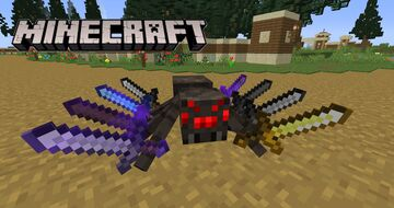 Eight Swords Spider Custom Boss Fight Challenge Minecraft Data Pack