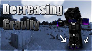 Decreasing Gravity Minecraft Data Pack
