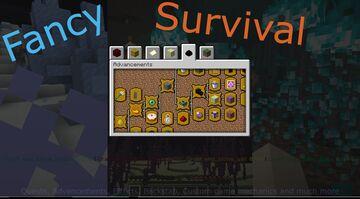 Fancy Survival Minecraft Data Pack
