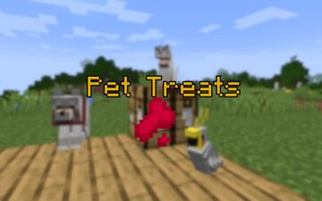 Pet Treats - Buff your pets! Minecraft Data Pack