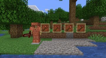 1.17 - Charged Copper - A usage for copper Minecraft Data Pack