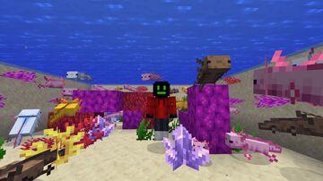Axolotl Origin Minecraft Data Pack