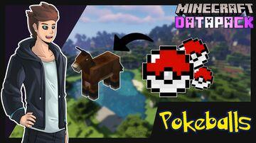 The Pokeball Datapack Minecraft Data Pack