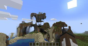 shattered worldgen Minecraft Data Pack