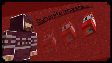 Dynamite shashka Minecraft Data Pack