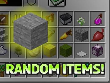 Minecraft but Stone gives you extra random items! Minecraft Data Pack