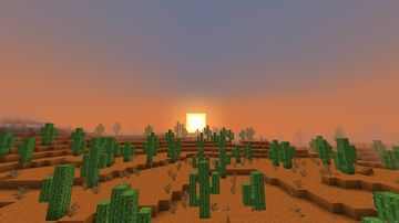William Wythers' Saguaros for 1.16.5 Minecraft Data Pack