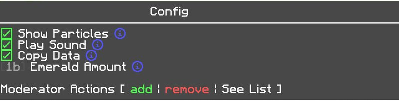 in-game config