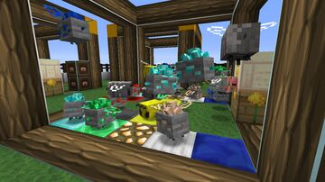 Data Pack for ResourcefulBees-1.16.5-0.6.7b + [For Sky Bees 3 Modpack] Minecraft Data Pack