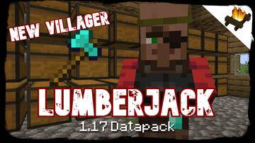 Lumberjack Villager + Fortune Axes | Buy shipments of wood! | True Survival Datapack Minecraft Data Pack
